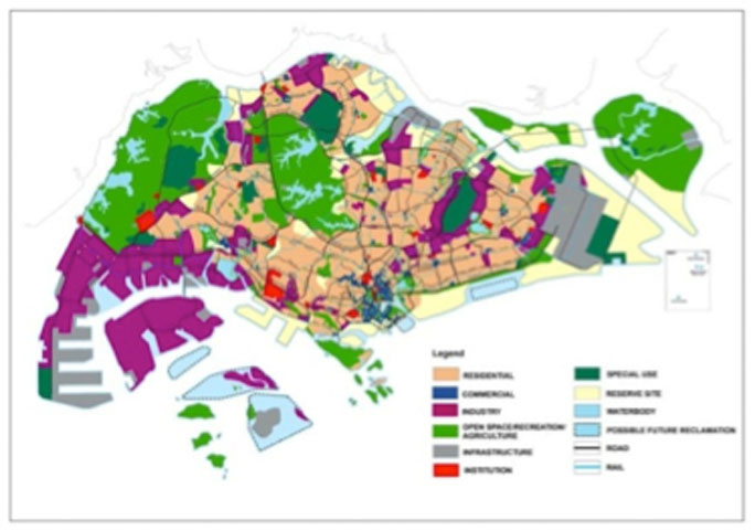 Concept Plan 2011 (CP2011) and MND's Land Use Plan